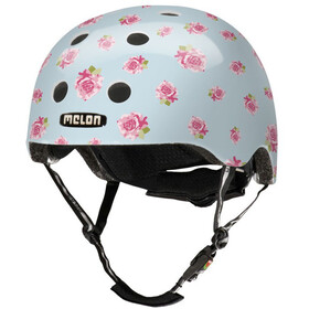 Melon Urban Active Story Fietshelm Flying Roses roze/blauw